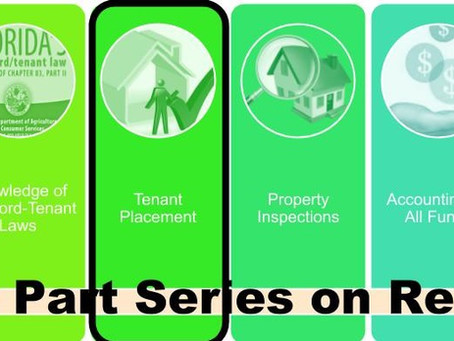 Property Management – An 8 Part Series