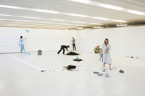 Kunstgarasjen, Performance Art Bergen, Ingeborg Blom Andersskog Norwegian Artist