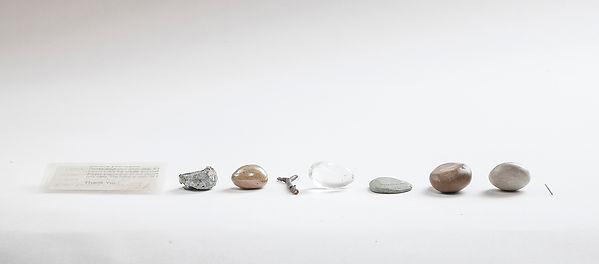 Water Hollows Stone, Not By Force, But By Falling Often. Ingeborg Blom Andersskog. Norwegian Artist