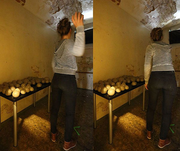 Performance Art, Performance Art Bergen, Not Yet, Clay Stones, Norwegian Artist Ingeborg Blom Andersskog, Norway.