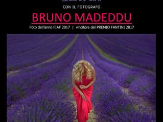Serata d'Autore con il fotografo Bruno Madeddu