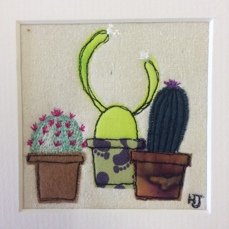 Three Little Cacti