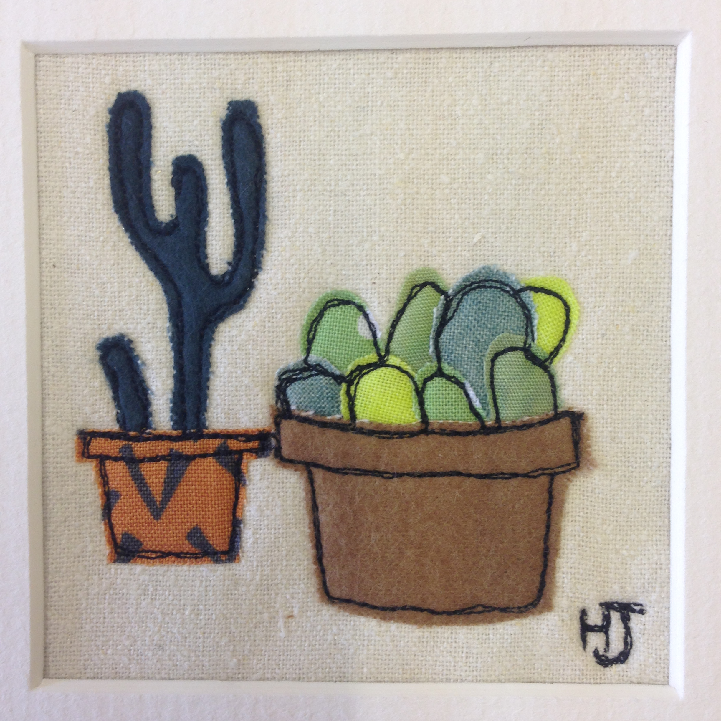 Two Little Cacti
