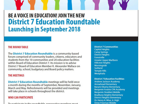 Join the District 7 Education Roundtable!