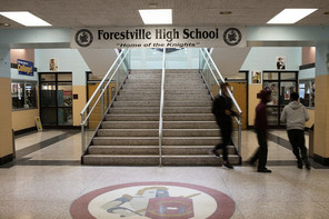 Last night, I voted to save Forestville High School and Skyline Elementary School!