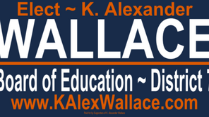 I'm Running for Board of Education.