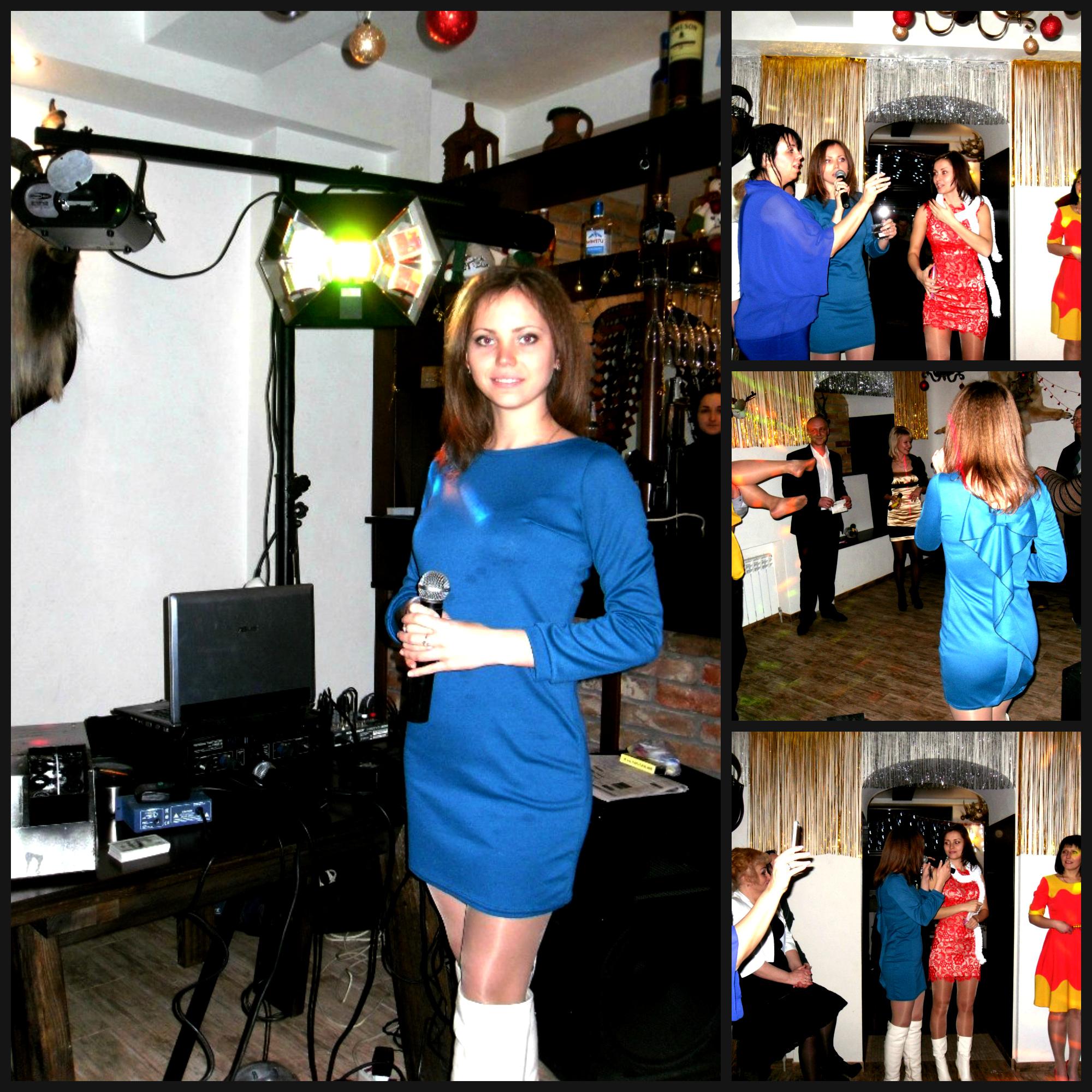 Новогодний корпоратив Днепропетровск 2015 Ведущая Анна Никитина