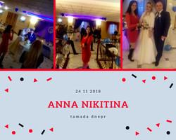 126 тамада Днепр свадьба 24 11 2018