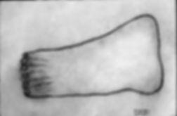 sortkritt-tegning, Morten Hansen
