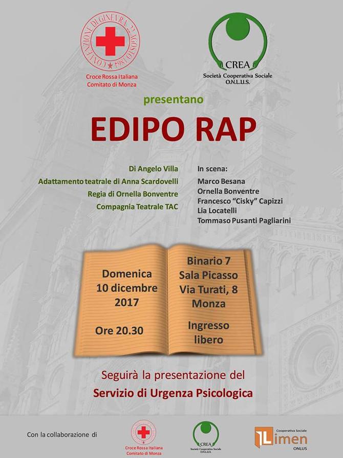 Presentazione servizio di Urgenza Psicologica di Monza e a seguire spettacolo Teatrale