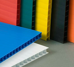 plastic corrugated colors