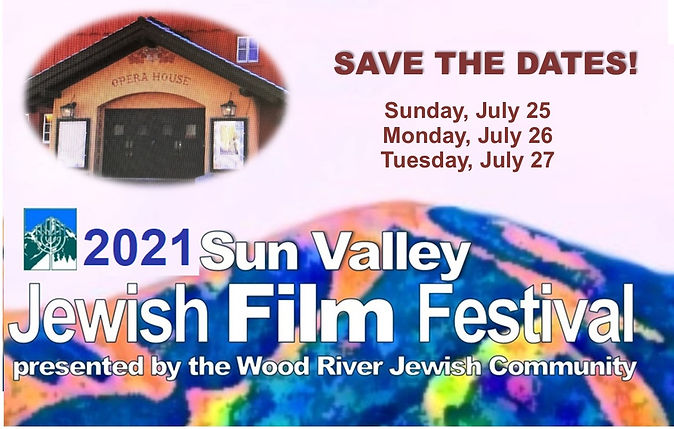 4Save the dates. Jewish Film Festival 20