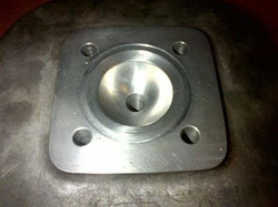 Machined combustion chamber