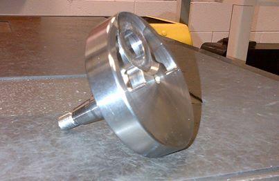 Crank shaft final machining B
