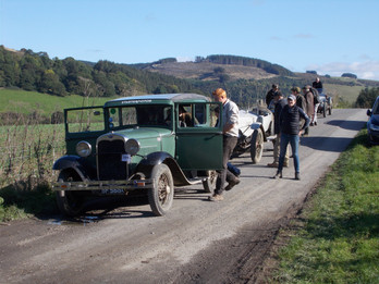 Vintage Car Trials Presteigne