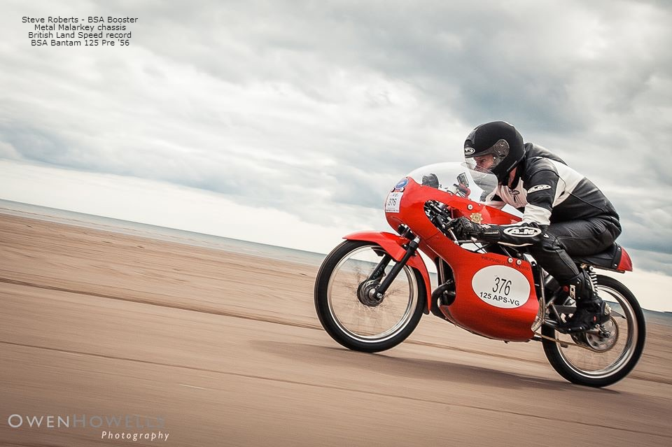 Pendine Sands, BSA Booster