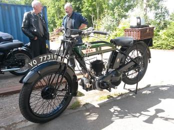 Nick's 1926 BSA