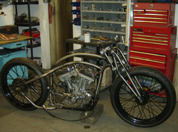 Board track style sportster in progress.JPG
