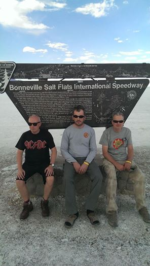 The team arrive at Boneville