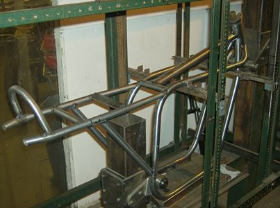 Special frame under construction A