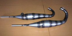 TDR Exhausts fabricated