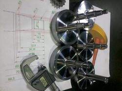 Crank shaft final machining
