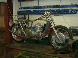 Radiator fitted.JPG