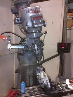 Machining crank case