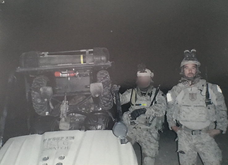 Pregame picture in Afghanistan