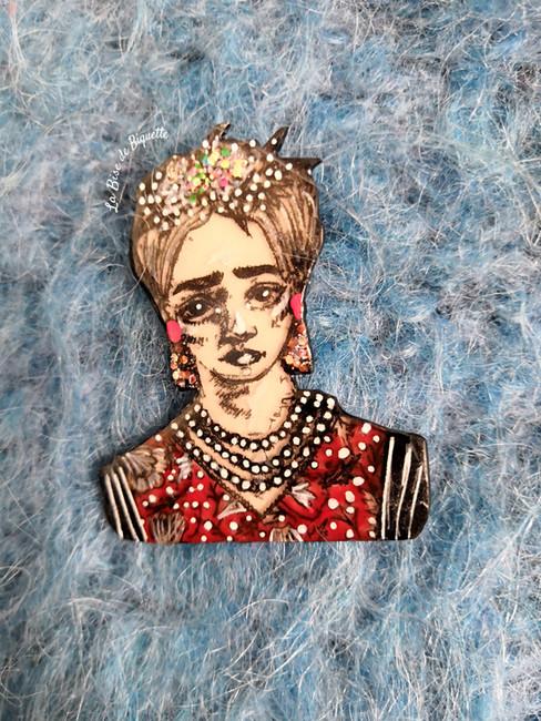 Frida grand bordeaux