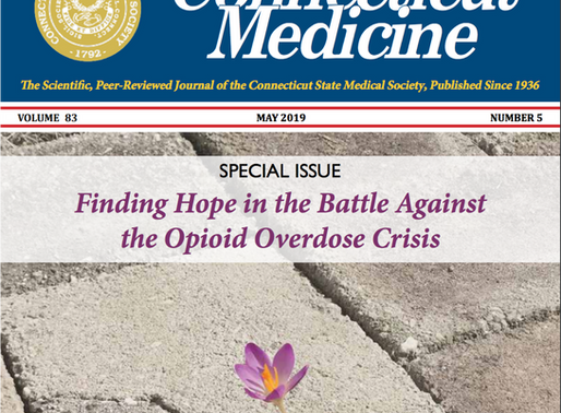 President of CT Pain Society, Dr. Eric Grahling, featured in CT Medical Society's Opioid Journal