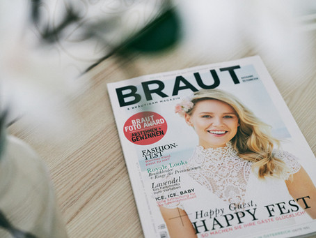 Interview im Brautmagazin
