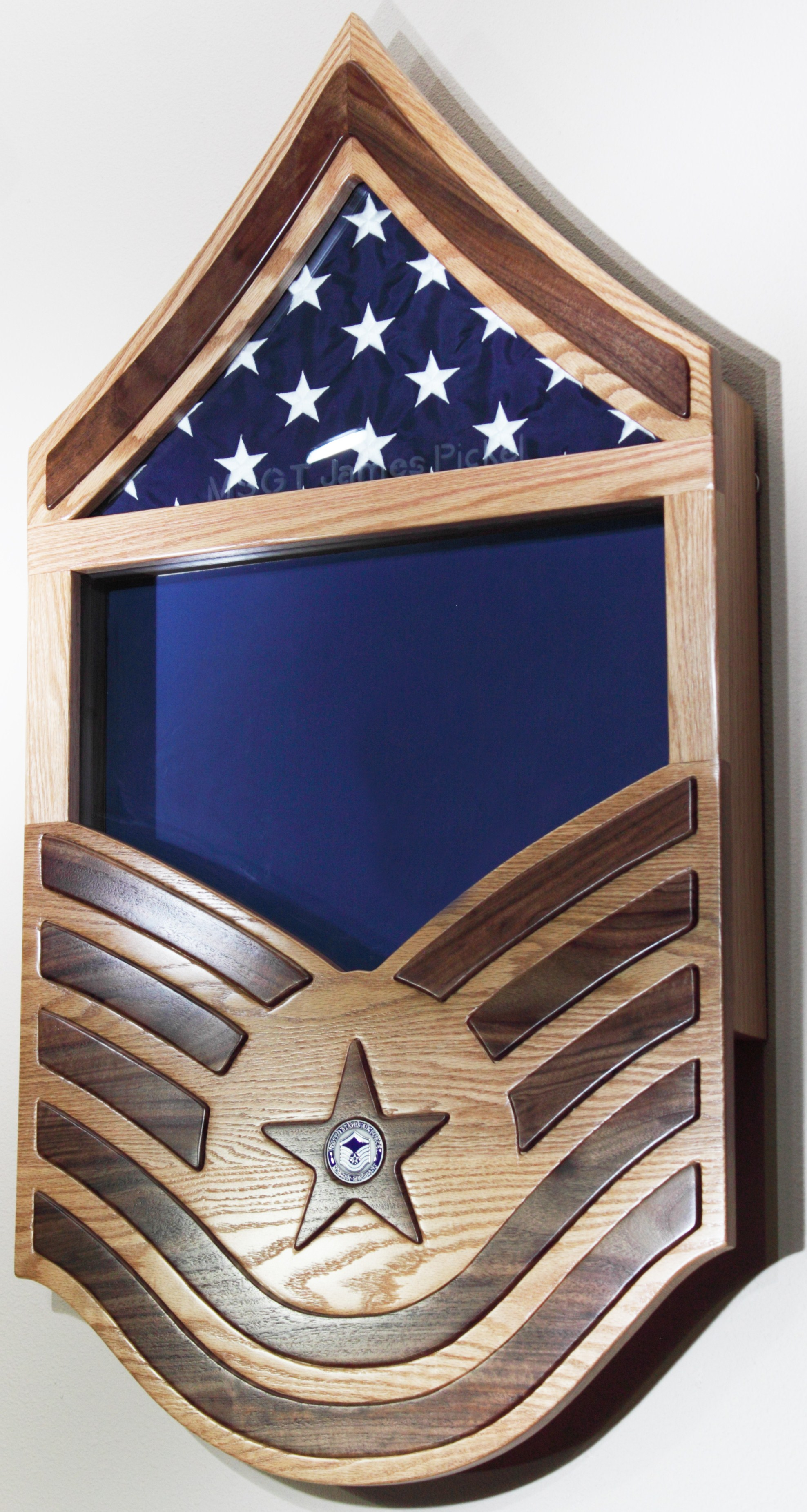 MSgt Shadow Box