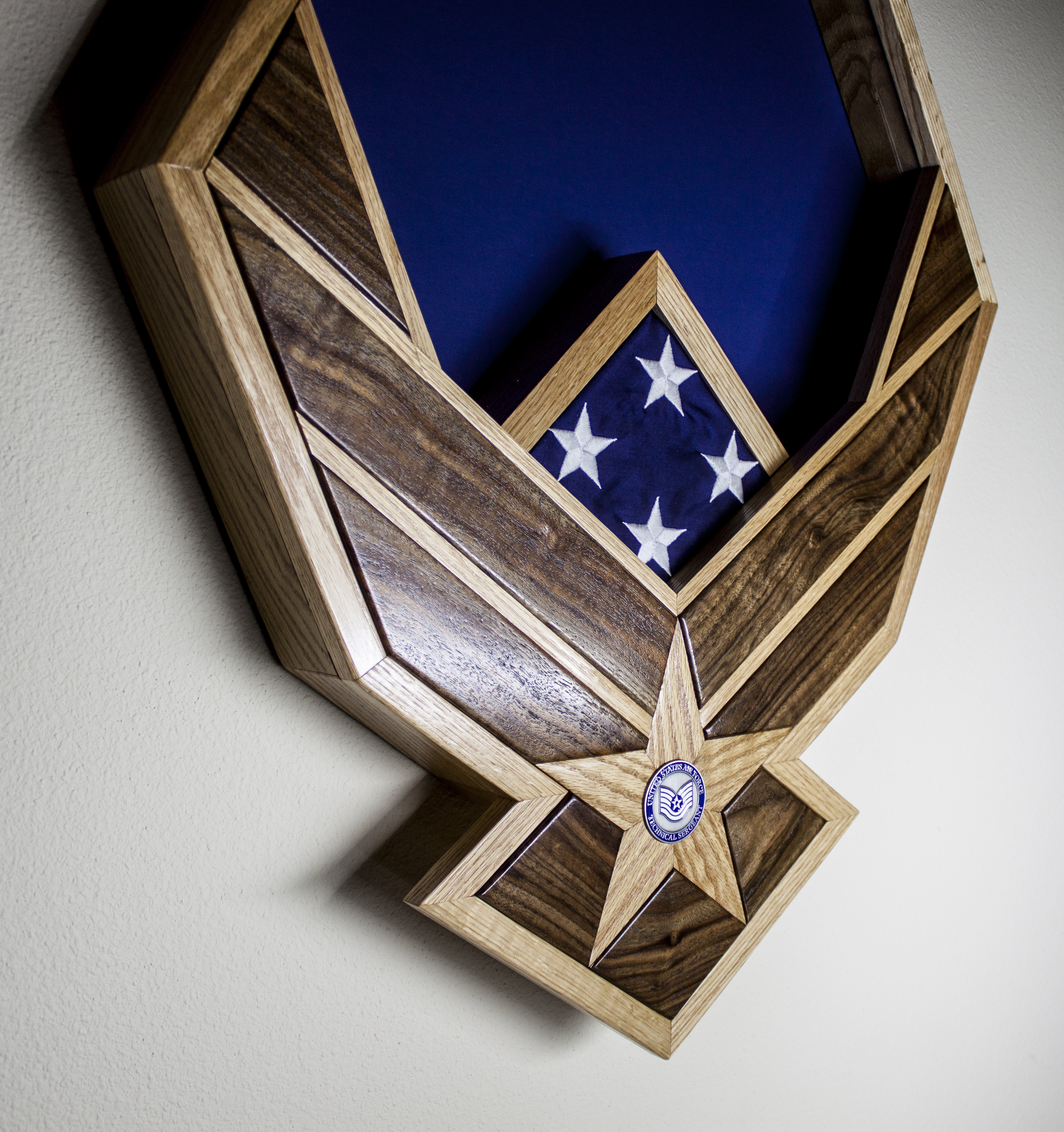 USAF Shadow Box