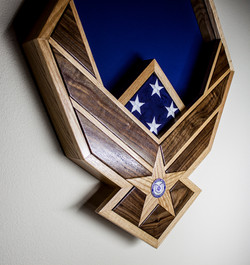 USAF Shadow Box