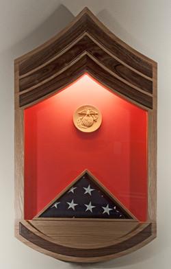 USMC Shadow Box