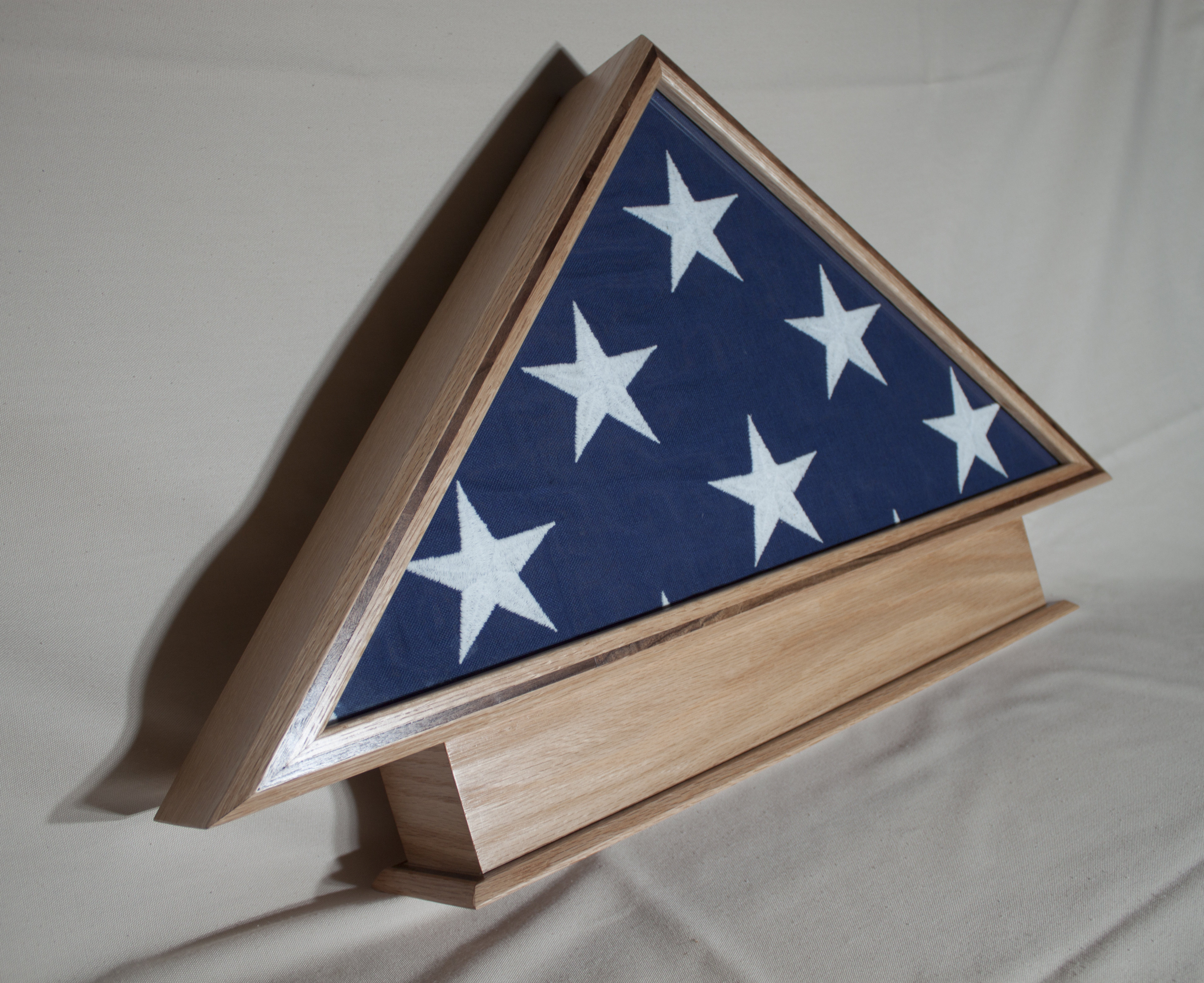Flag Box with stand