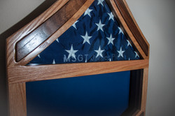 Top with 3'X5' flag