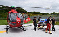 EMRTS Cymru Welsh Flying Doctors diagnostic equipment