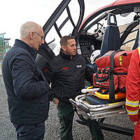 EMRTS Cymru Welsh Flying Doctors Service Innovations