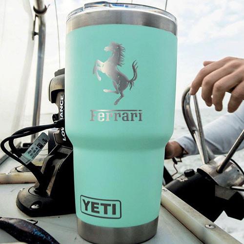 Custom logo Yeti holiday corporate gift