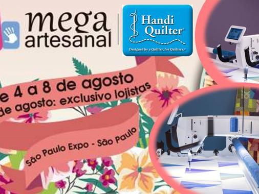 Espaço Handi Quilter na Mega Artesanal 2018