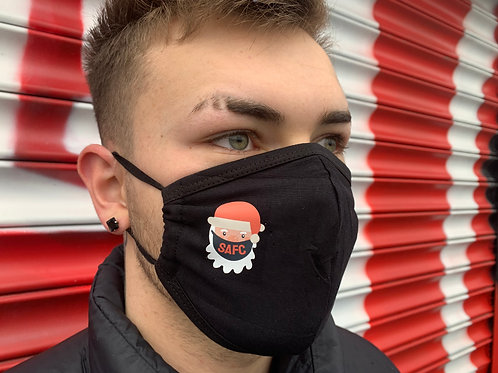 SANTA IS A MACKEM FACE COVERING (2 FOR £5 + FREE POSTAGE)