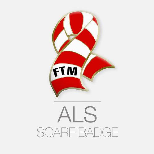 ALS Scarf Badge