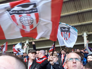 RAWA Roundup:  The Roker End Flags