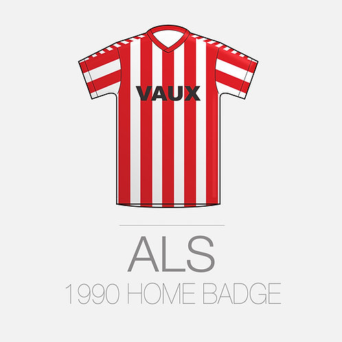 1990 HOME BADGE
