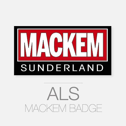 Mackem Badge