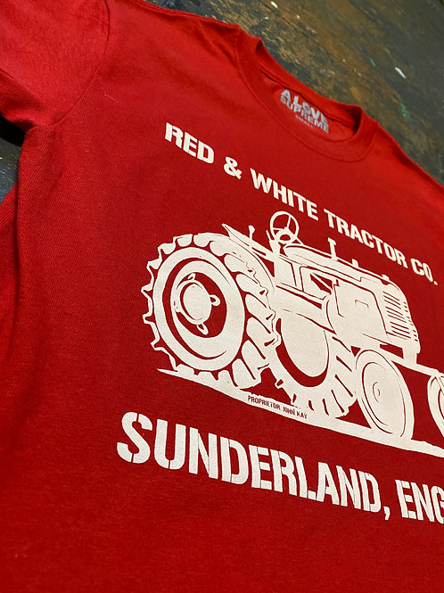 JOHN KAY'S RED & WHITE TRACTOR TS (LIMITED EDITION)