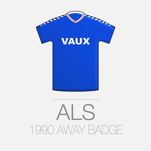 1990 AWAY BADGE