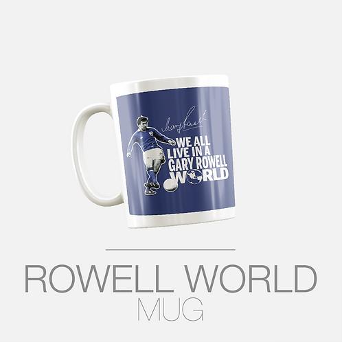 GARY ROWELL WORLD MUG